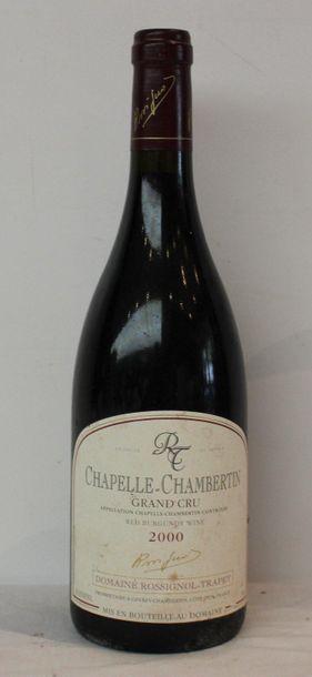 1 bout CHAPELLE CHAMBERTIN TRAPET 2000 T...