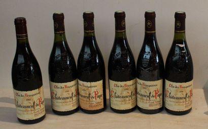6 bout CDP CLOS DES BRUSQUIERES 4/1990, 1/2005,...