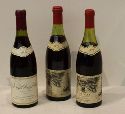 3 bout 1 VOLNAY CAILLERET 1976 (NLB) MICHEL...