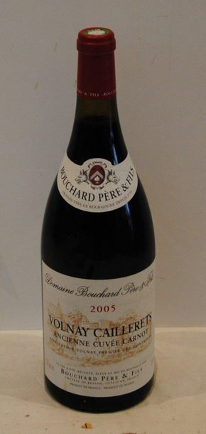 1 mag VOLNAY CAILLERET BOUCHARD 2005 ROU...