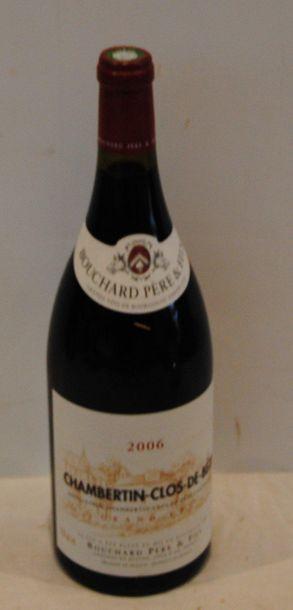 1 mag CHAMBERTIN CLOS DE BEZE BOUCHARD 2006...