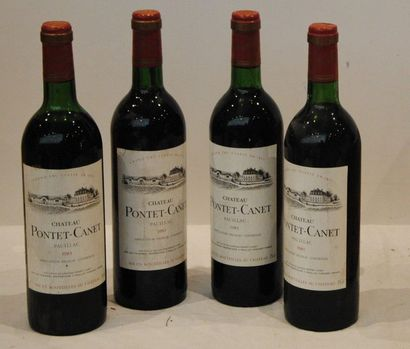 4 bout CHT PONTET CANET 1983