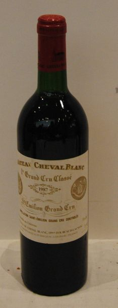 1 bout CHT CHEVAL BLANC 1987
