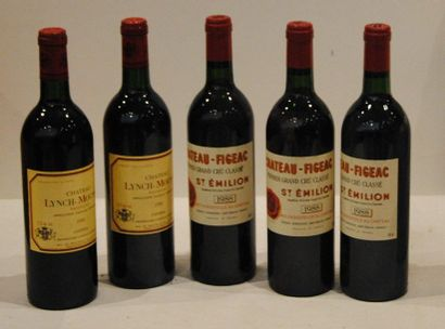 5 bout 2 CHT LYNCH MOUSSAS 1988, 3 CHT FIGEAC...