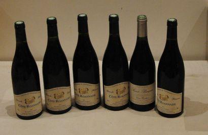 6 ends MISCELLANEOUS WINES: COTE ROYNAISE, ST POURCIN ...