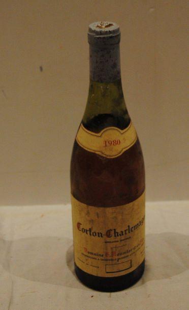 1 end CORTON CHARLEMAGNE ROUMIER -CM 1980