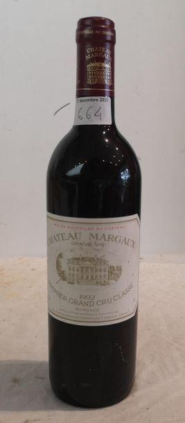 1 end Château Margaux 1992 (BG)