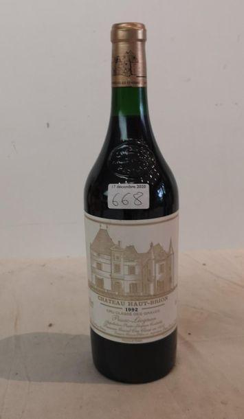1 end Château Haut Brion 1992