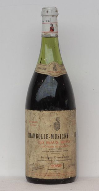 1 mag CHAMBOLLE MUSIGNY LES BEAUX BRUNS GRIVELEY...