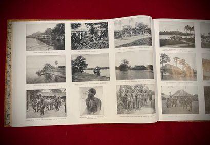 Panorama du Congo, livre relié, couverture...
