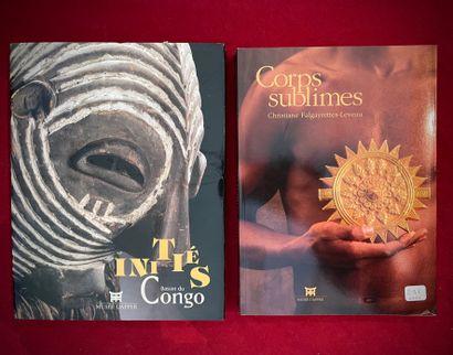 Deux ouvrages, Musée Dapper: Initiés Bassin...