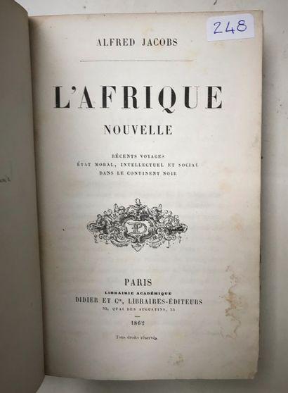 L'Afrique Nouvelle Alfred Jacob Paris 18...