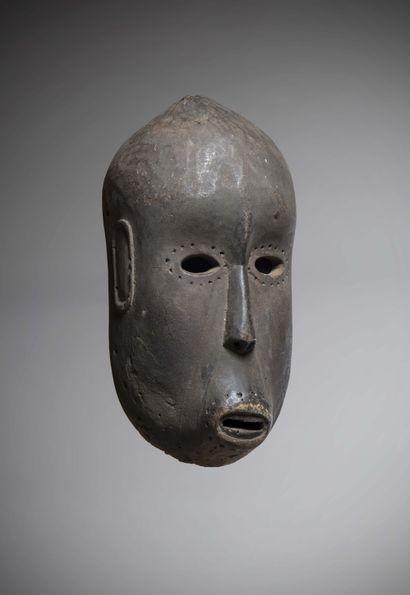 CHEWA (Malawi)  Rare MASQUE au visage allongé,...