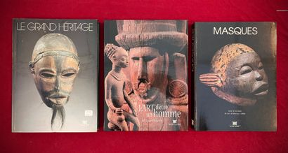 Trois ouvrages, Musée Dapper: Le Grand Héritage,...
