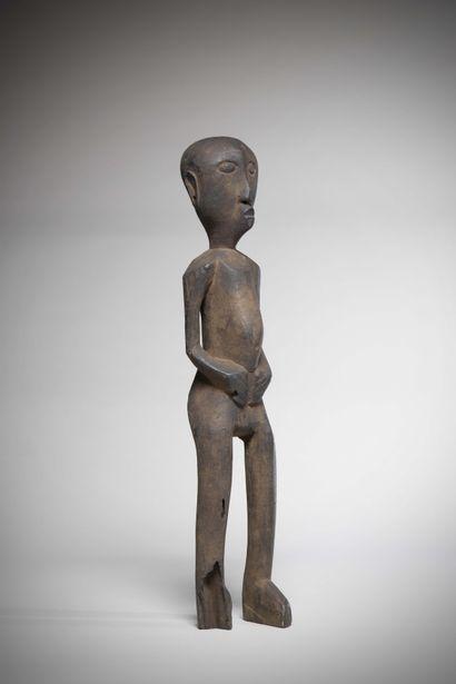 NIAMWEZI (Tanzanie)  STATUE masculine en...