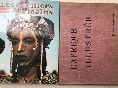 Deux ouvrages : Les derniers africains  ...