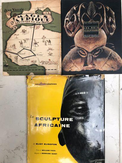 Trois ouvrages : Images d'Afrique Jean Vallée...