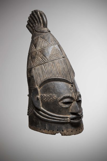 AFO / IGALA (Nigéria)  MASQUE heaume royal...