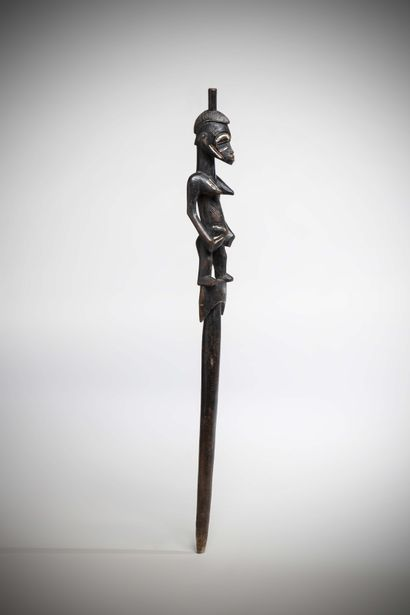 SENOUFO (Côte d'Ivoire)  Rare RECADE tenue...