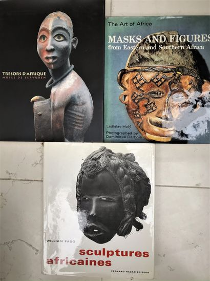 Trois ouvrages : Masks and Figures from Eastern,...