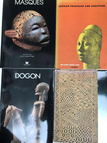 Quatre ouvrages : Sculpture of black Africa...