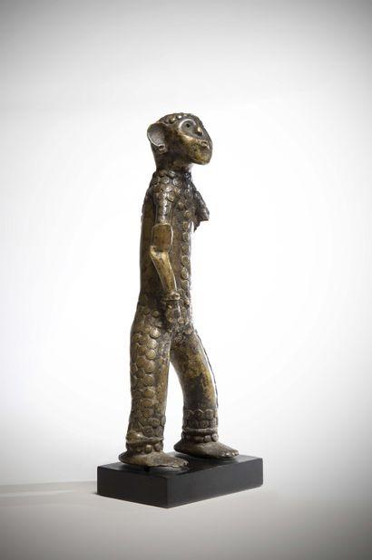 TIV / WERE (Nigéria)  Rare STATUE en bronze...