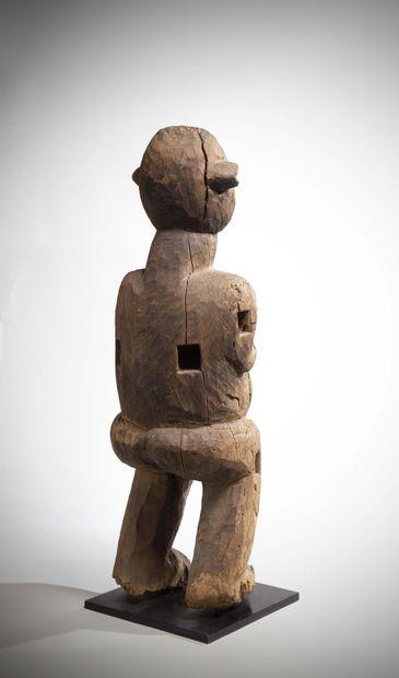 BAMILEKE (East Bangwa) Cameroon  Probably a representation of a Fon, a traditional...