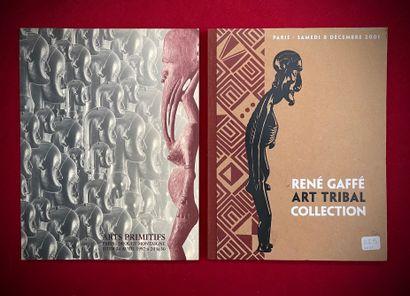 Catalogue de vente René Gaffé 2001 et vente...