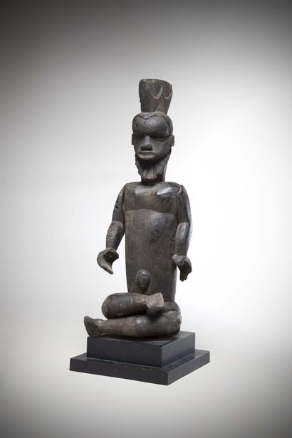 IBIBIO / EKET (Nigéria)  STATUE masculine...