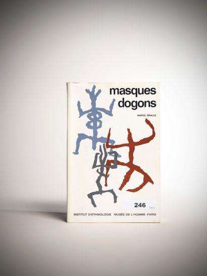 Masques Dogon Marcel Griaule , Musée de l'Homme...