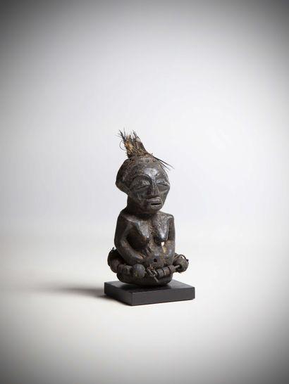 SONGE (Congo R.D.C)  Rare CHARME de protection...