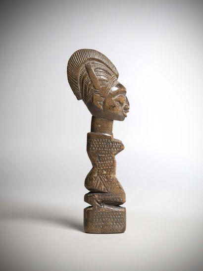YORUBA (Nigeria)  Très ancienne POUPEE en...