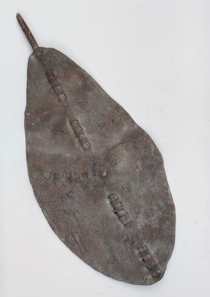 BOUCLIER, DINKA du Sud Soudan, 110 X 50...