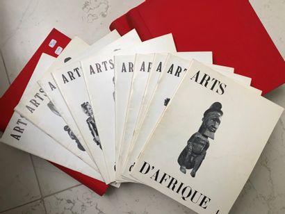 Collection de la revue Art d'Afrique noire...