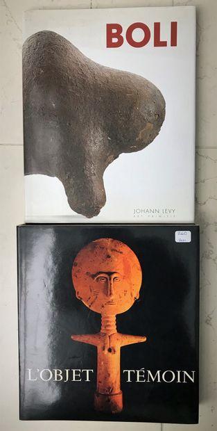 Deux ouvrages : L'Objet Tempin Jean Gabus...