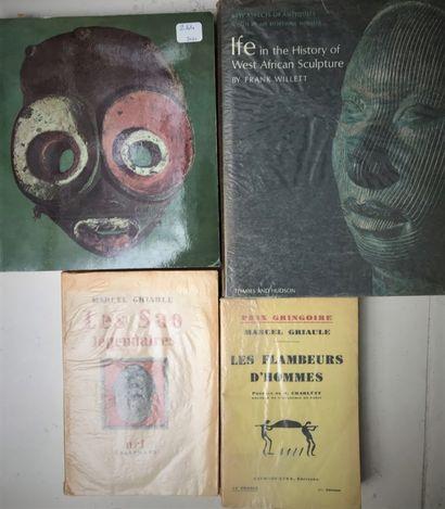 Quatre ouvrages : Ifé F. Willet; Afrika Elsy...