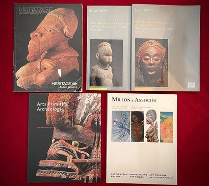 Ensemble de 6 catalogues de vente Bonhams;...