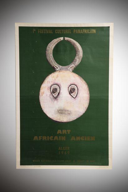 Une affiche : Le festival Mondial des Arts...