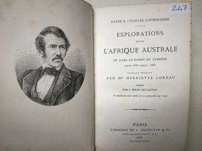 Explorations dans l'Afrique Australe D. &...