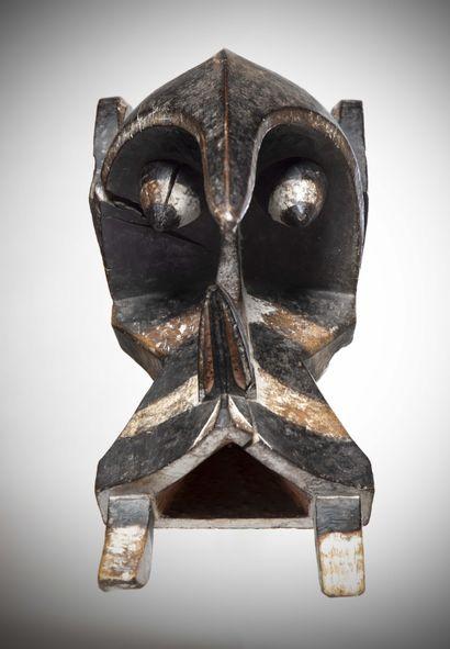 """IGBO / IZI (Nigeria)  ELEPHANT MASK """"Ogbodo Enyi"""". He dances on the occasion of..."""