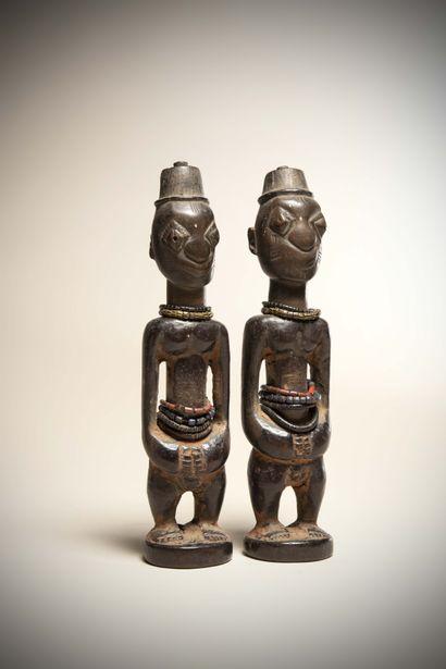 YORUBA (Nigéria)  Paire de JUMEAUX