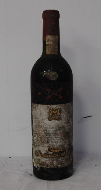1 bout CHT MOUTON ROTHSCHILD 1959 (ntlb,...