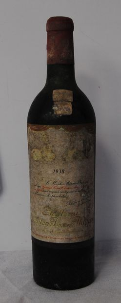 1 bout CHT MOUTON BARON PHILIPPE 1938 (n...