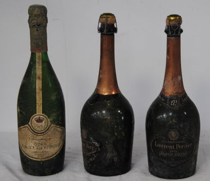 3 bout 2 CHAMPAGNE LAURENT PERRIER GRAND...