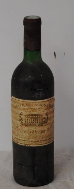 1 bout CHT MARGAUX 1971 (ntlb, sale)