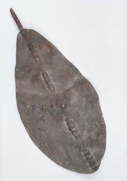 BOUCLIER, DINKA du Sud Soudan,110 X 50...