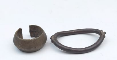 CHEVILLERE in lost wax bronze Gurunsi from...
