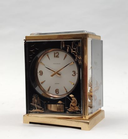 JEAGER-LECOULTRE ATMOS PENDULUM in gilded...