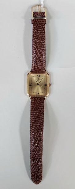 BALSAM & MERCIER, men's wristwatch, 750°/00...