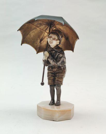 Dimitre CHIPARUS (1886-1947) Little girl...
